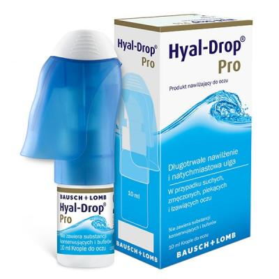 Krople do oczu - Hyal Drop...