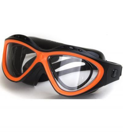 Gogle do pływania Aquaviz RX, black/orange